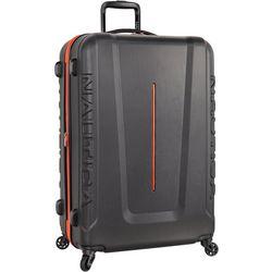 Nautica 28'' Vernon Bay Grey Hardside Spinner Luggage