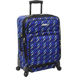 Leisure Luggage 21'' Lafayette Blue Paint Brush Luggage