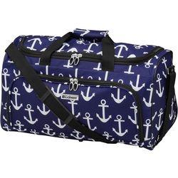Leisure Luggage 20'' Lafayette Navy Anchor Duffel Bag