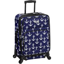 Leisure Luggage 21'' Lafayette Navy Anchor Spinner Luggage