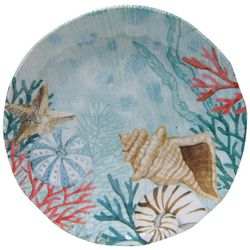Coastal Home Coquina Blue Dinner Plate