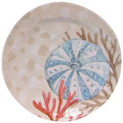 Coastal Home Coquina Tan Appetizer Plate