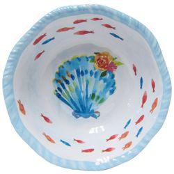 Tropix Coastal Tidings Sea Shell Cereal Bowl