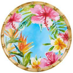Tropix Island Time Dinner Plate