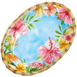 Tropix Island Time Oval Platter