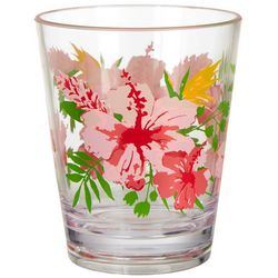 Tropix 15 oz. Island Time Double Old Fashion Glass