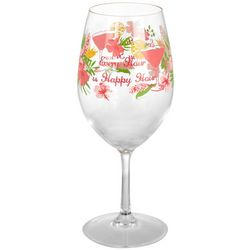 Tropix 20 oz. Island Time Wine Glass