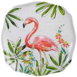 Tropix Orchid Island Flamingo Appetizer Plate