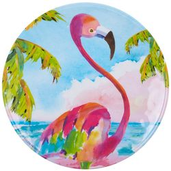Ellen Negley Flamingo Dinner Plate