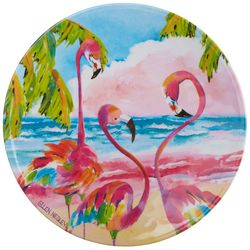 Ellen Negley Flamingo Salad Plate