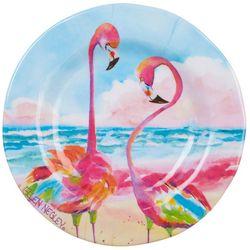 Ellen Negley Flamingo Appetizer Plate