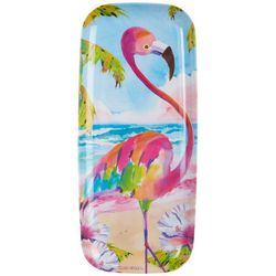 Ellen Negley Flamingo Oblong Tray