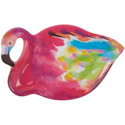 Ellen Negley Flamingo Large Flamingo Figure Platter