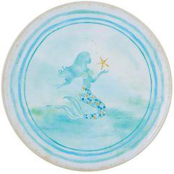 Tropix Mermaid Wishes Dinner Plate