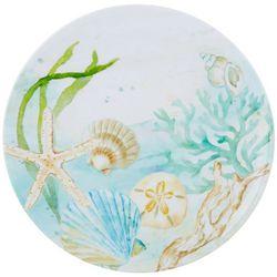 Tropix Mermaid Wishes Sea Shell Salad Plate