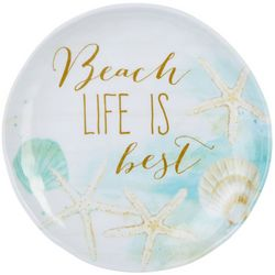 Tropix Mermaid Wishes Beach Life Appetizer Plate