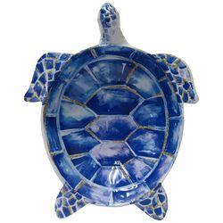 Coastal Home Indigo Sea Life Sea Turtle Bowl