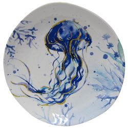 Coastal Home Indigo Sea Life Jelly Fish Appetizer