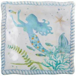 Tropix Mermaid Wishes Appetizer Plate