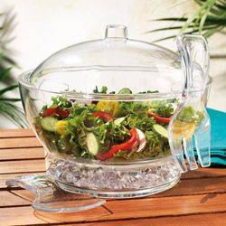 Home Essentials 6-pc. Chilled Salad Bowl Set
