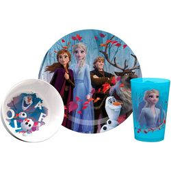 Disney  Frozen 3-pc. Plate Bowl & Cup Set