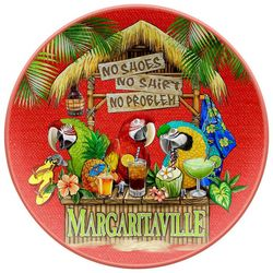 Margaritaville Tiki Bar Dinner Plate