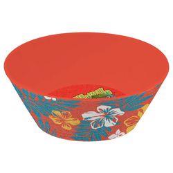 Margaritaville Red Hibiscus Cereal Bowl