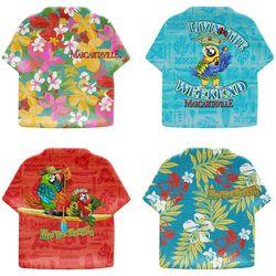 Margaritaville 4-pc. T-Shirt Shaped Appetizer Plate Set