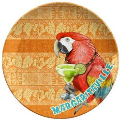 Margaritaville Parrot Orange Serving Platter