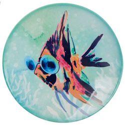 Tropix Mermaid Best Friend Sunglasses Fish Appetizer Plate