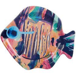 Tropix Mermaid Best Friend Fish Shaped Appetizer Plate