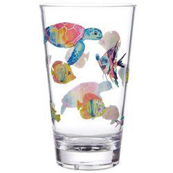 Tropix 19 oz. Mermaid Best Friend Highball Glass