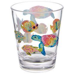 Tropix 14 oz. Mermaid Best Friend Double Old Fashioned Glass