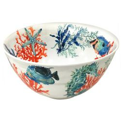 Coastal Home Coral Reef Mixing Bowl