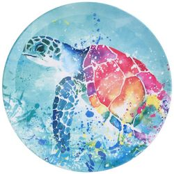 Tropix Splash Sea Turtle Dinner Plate