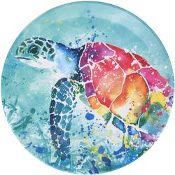 Tropix Splash Sea Turtle Salad Plate