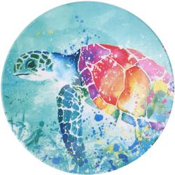 Tropix Splash Sea Turtle Appetizer Plate