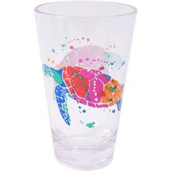 Tropix 19 oz. Splash Sea Turtle Highball Glass