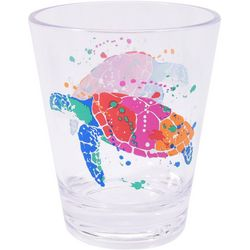Tropix 14 oz. Splash Sea Turtle DOF Glass