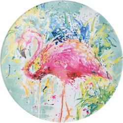 Tropix Splash Flamingo Salad Plate