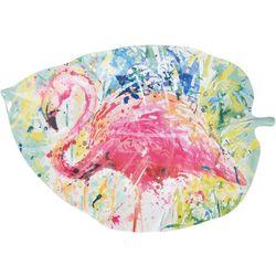 Tropix Splash Flamingo Platter