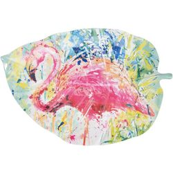 Tropix Splash Flamingo Platter