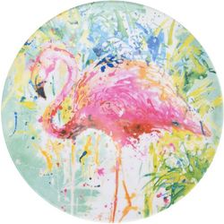Tropix Splash Flamingo Appetizer Plate