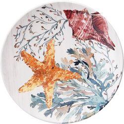 Coastal Home Fall Sealife Manatee Appetizer Plate