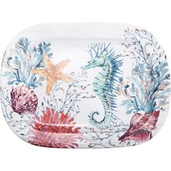 Coastal Home Fall Sealife Serving Platter