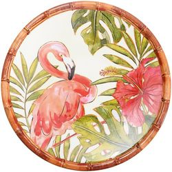 Coastal Home Flamingo Salad Plate