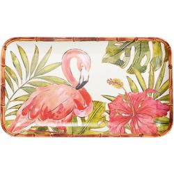 Coastal Home Flamingo Tidbit Tray