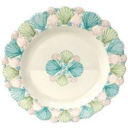 Coastal Home Embossed Shells Salad Plate