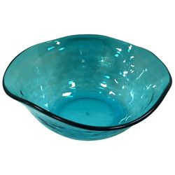 Coastal Home Embossed Shells Small Wavy Bowl