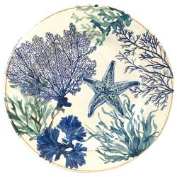 Coastal Home Sea Life Dinner Plate